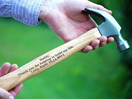 wedding gift keepsakes personalized hammer of the groom hammer