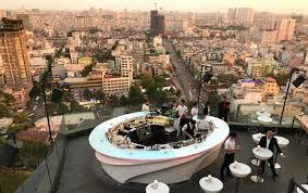 chill sky bar saigon best rooftop review drink menu dress code