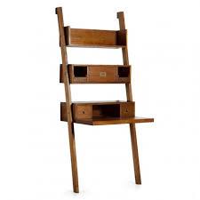 bureau echelle étagère échelle tali meuble de bureau en bois exotique