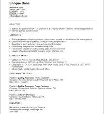 Sample Resume Qa Tester by Sample Resume Qa Engineer Fate Maginot Gq