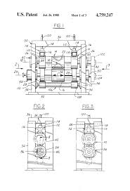 patent us4759247 rotary dies with adjustable cutter force