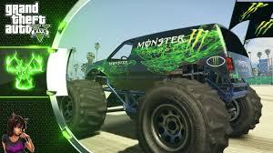monster drink monster truck gta 5 mod