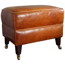 large leather tufted ottoman furniture outstanding tan leather ottoman square tufted along with