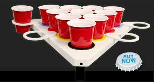 Pool Beer Pong Table by Portable Beer Pong Table Floating Beer Pong Table Point Pong