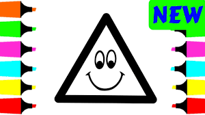 triangle coloring pages for toddlers eliolera com