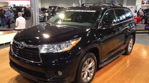 toyota highlander 2015 toyota highlander 2015 black wallpaper 1280x720 40417