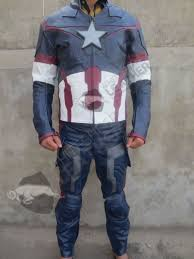 cheap motorcycle leathers avengers 2 captain america age of ultron costume replica suit