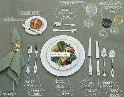 how do you set a table properly how to properly set the table making life beautiful pinterest