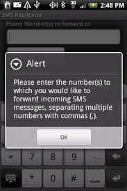 forward text messages android sms replicator for android will secretly forward texts