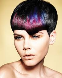 short hairstyles color hair style and color for woman