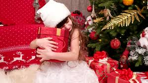 surprised little discovered christmas present christmas with