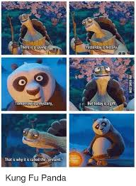 Memes De Pandas - there is a saying tomorrow a mystery that is why it is called the