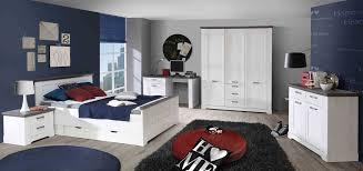 Schlafzimmer Pinie Blau 4 Tlg Anbauwand In Schneeeiche Nachbildung Kombiniert Mit Pinie