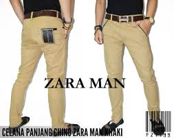Celana Zara jual celana pria zara original khaki murah
