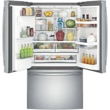 Counter Depth Stainless Steel Refrigerator French Door - ge french door refrigerators refrigerators the home depot