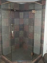 Angled Glass Shower Doors Custom Frameless Shower Doors Milwaukee Frameless Shower Door