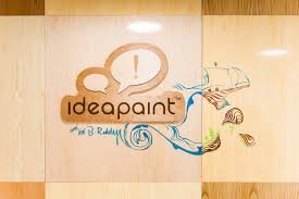 ideapaint clear finish whiteboard paint