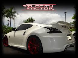 nissan 370z custom rims nismo 370z ark exhaust u0026 custom wheels vfr auto blog