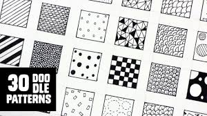 30 patterns for doodling filling gaps
