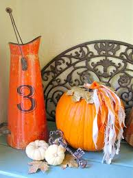 Fall Decorating Projects - front porch blog tour fall decor