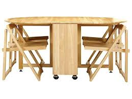Folding Dining Table With Chair Storage Folding Dining Table With Chair Storage Drop Leaf Dining