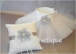 wedding ring pillow wedding ring pillow beautiful wedding flower girl basket with tutu