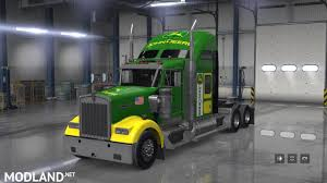 w900 john deere skin for scs kenworth w900 mod for american truck