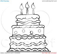 layered birthday cake clip art bbcpersian7 collections
