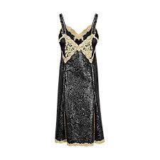 coated devore embroidered dress ready to wear louis vuitton