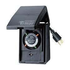 outside light timer switch outside light timer outdoor light timer with remote outdoor light