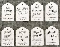 favor tags 20 hanging custom favor tags wedding succulent favors for sale