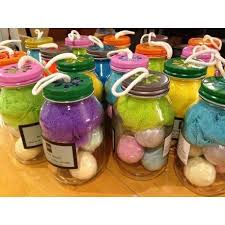 bathroom gift ideas 5 fizzy bath bombs in jar great gifts gift