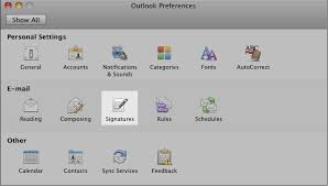 how to create an email signature for mac in outlook 2011