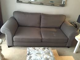 couch taupe dfs angelic 3 seater sofa and armchair vgc in northampton