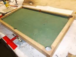 mini pool table into coffee table for billiard lovers before