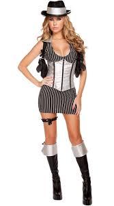 Halloween Gangster Costume Mafia Mistress Costume Gangster Costume Mobster Halloween