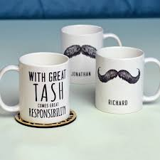Design Mugs by Personalised U0027great Tash U0027 Man Mug By Oakdene Designs