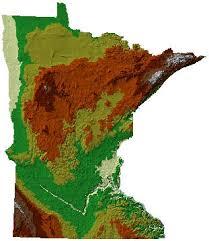 minnesota topographic map map gallery