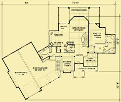Floor Plans For Mountain Homes Mountain View House Plans For A 3 Bedroom Luxury Home