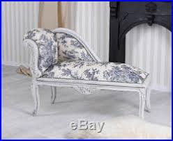 canapé shabby chic baroque chaises longues