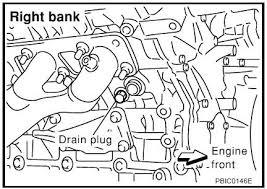 toyota tacoma coolant change stubborn coolant drain on engine block nissan titan forum