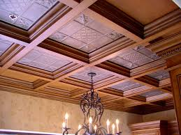 Ceiling Tile Painting Ideas by Decoration Fascinating Ideas About Drop Ceiling Tiles Metal