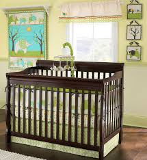 Black And Green Crib Bedding by Bedroom Interesting Rosenberry Rooms Bedding With Dark Wood Bed