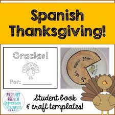 thanksgiving mini book and craft template tpt