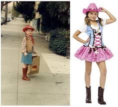 Cowgirl Halloween Costumes Girls Halloween Costumes Sociological Images