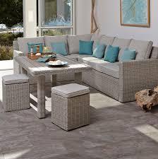 B Q Bistro Chairs Praslin Rattan Effect 7 Seater Coffee Dining Set Rooms Diy At