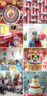 circus baby shower themed baby shower ideas live colorful