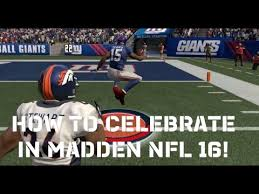 madden 16 tips how to celebrate a td