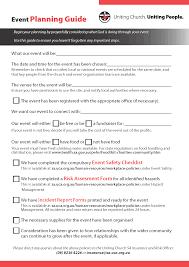 Event Planner Checklist Template Event Planner Guide Templates Event Planner Template