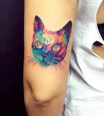Tattoos For Triceps Cat Images Designs